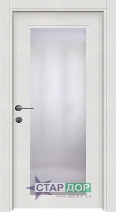 T21 Бяла остъклена